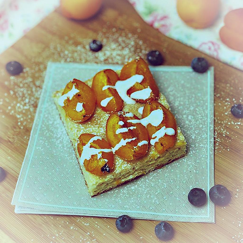 Aprikosenkuchen selbst gemacht und gesund - Bild zum Rezept