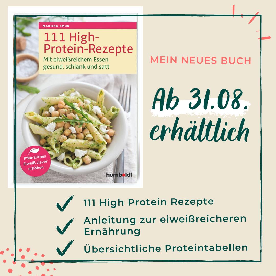 111 High Protein Rezepte – Mein neues Buch