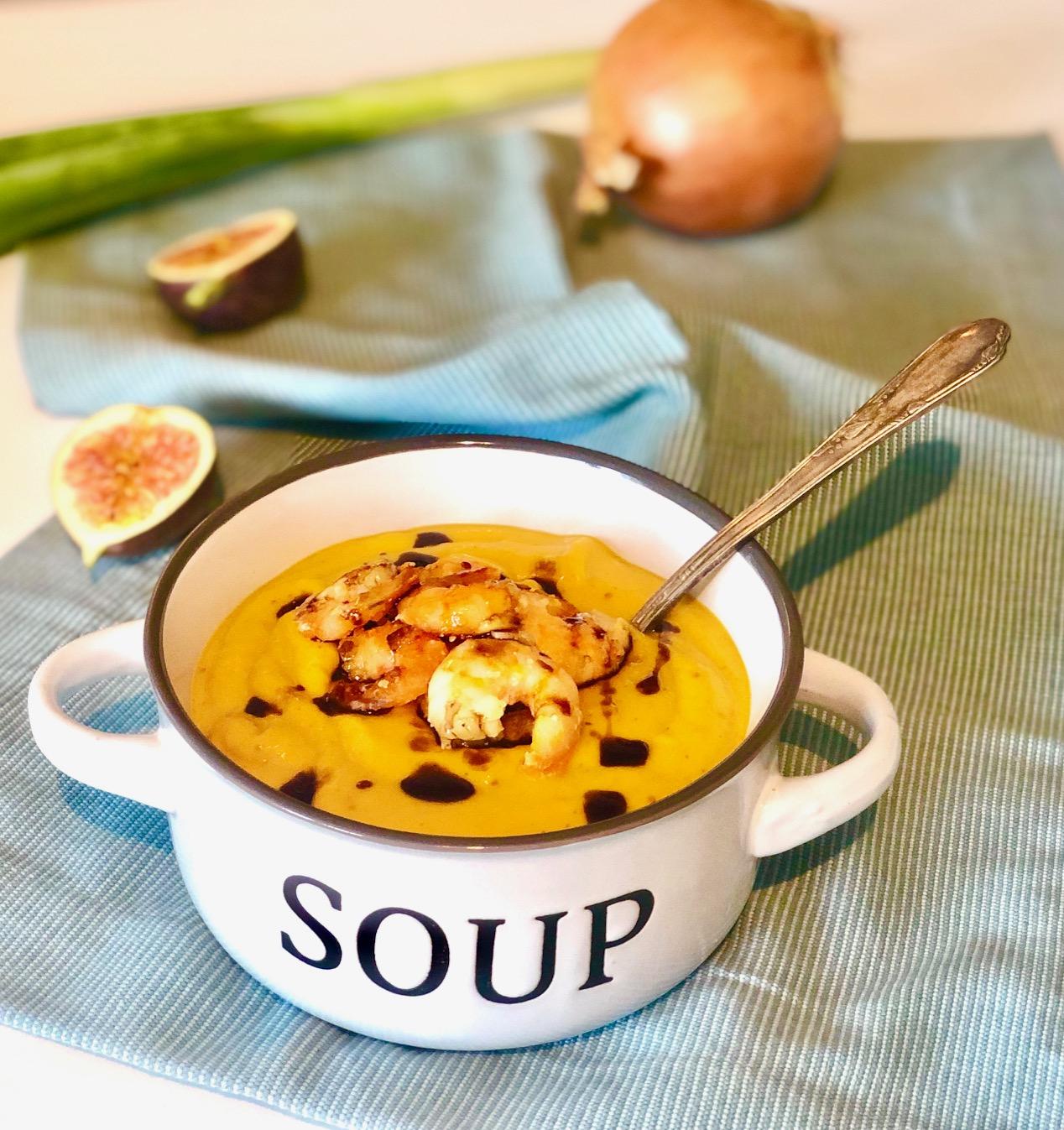 Kürbis Feigen Suppe - Bild zum Rezept
