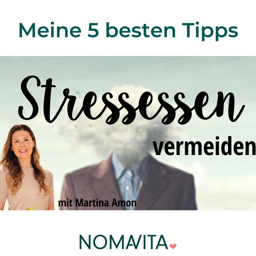 Die 5 besten Tipps gegen Stressessen
